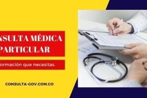 Cuánto cuesta una consulta médica particular en Colombia
