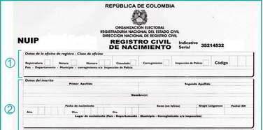 consultar acta nacimiento colombia
