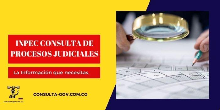 inpec consulta de procesos judiciales