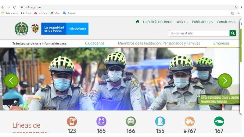 policia nacional certificado judicial