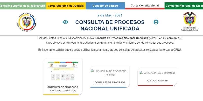consulta de procesos nacional unificada