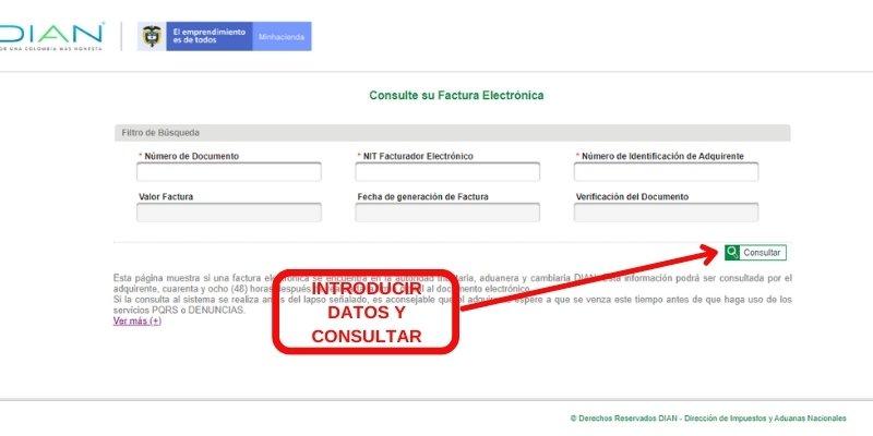 consulta factura electronica