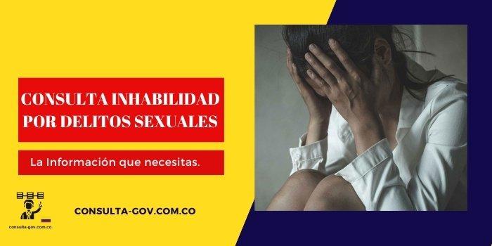 consultar inhabilidad por delitos sexuales