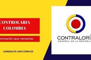 Certificado de Contraloría Colombia