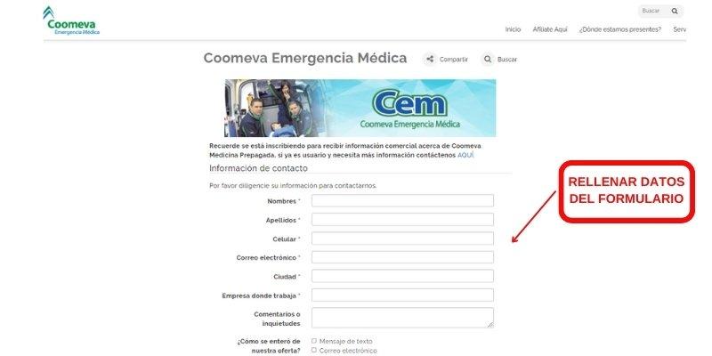 coomeva emergencia medica