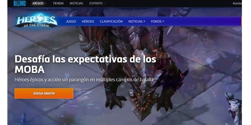 juego pc heroes storm