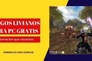Juegos livianos para pc gratis