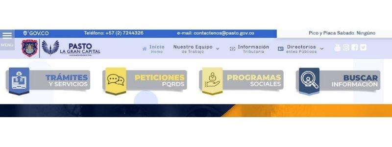 bancos asociados a la Alcaldía para el pago de facturas