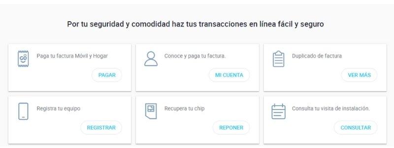 transacciones en línea tigo