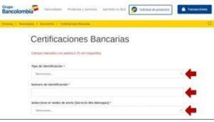certificaciones bancarias