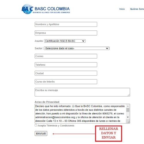 basc colombia