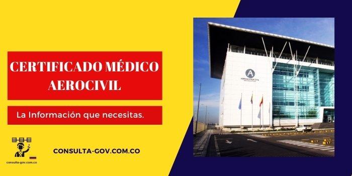 certificado medico aerocivil