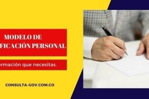 Modelo de certificación personal