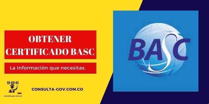 obtener certificado basc