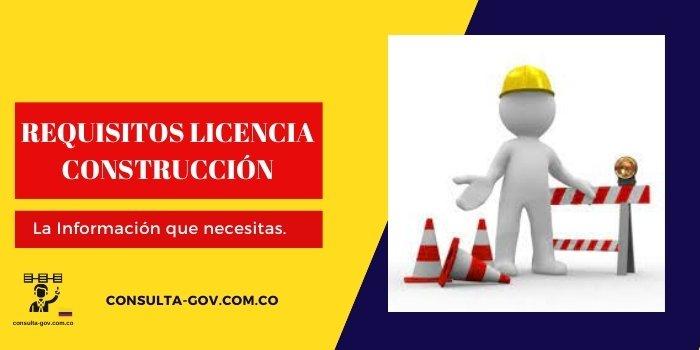 requisitos licencia construccion