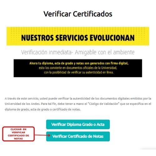 verificar certificados